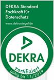 Dekra Siegel. Fachkraft-für Datenschutz
